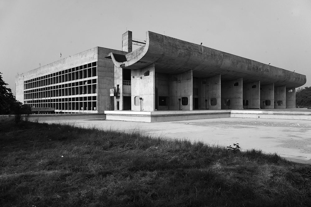 Palace of Assembly by Le Corbusier