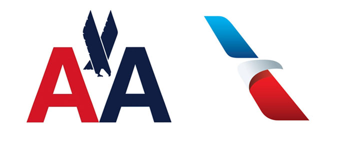 American Airlines Logo Comparison